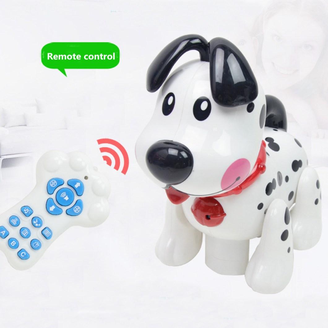 Smart Storytelling Robot Dog Sing Dance Walking Talking Dialogue pet Toy IR RC 37