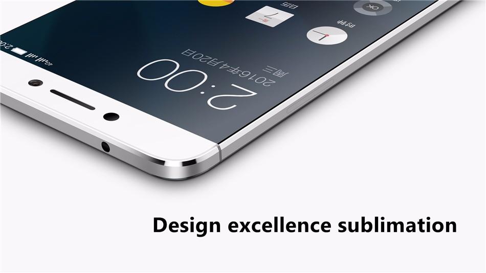 Original LeEco Le X620 5.5 Inch FHD 21.0MP Rear Camera 3GB 32GB Helio X20 Deca Core 4G Smartphone