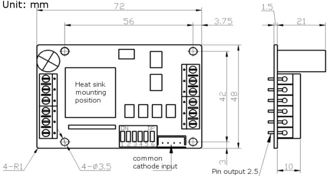 mks-lv8729-oc stepper motor driver module high subdivision