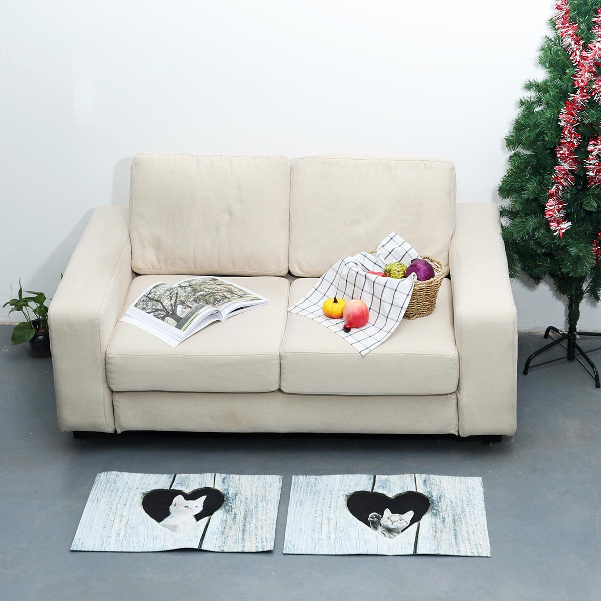 Door Mat Cartoon Cute Cat Kitchen Rugs Bedroom Carpets