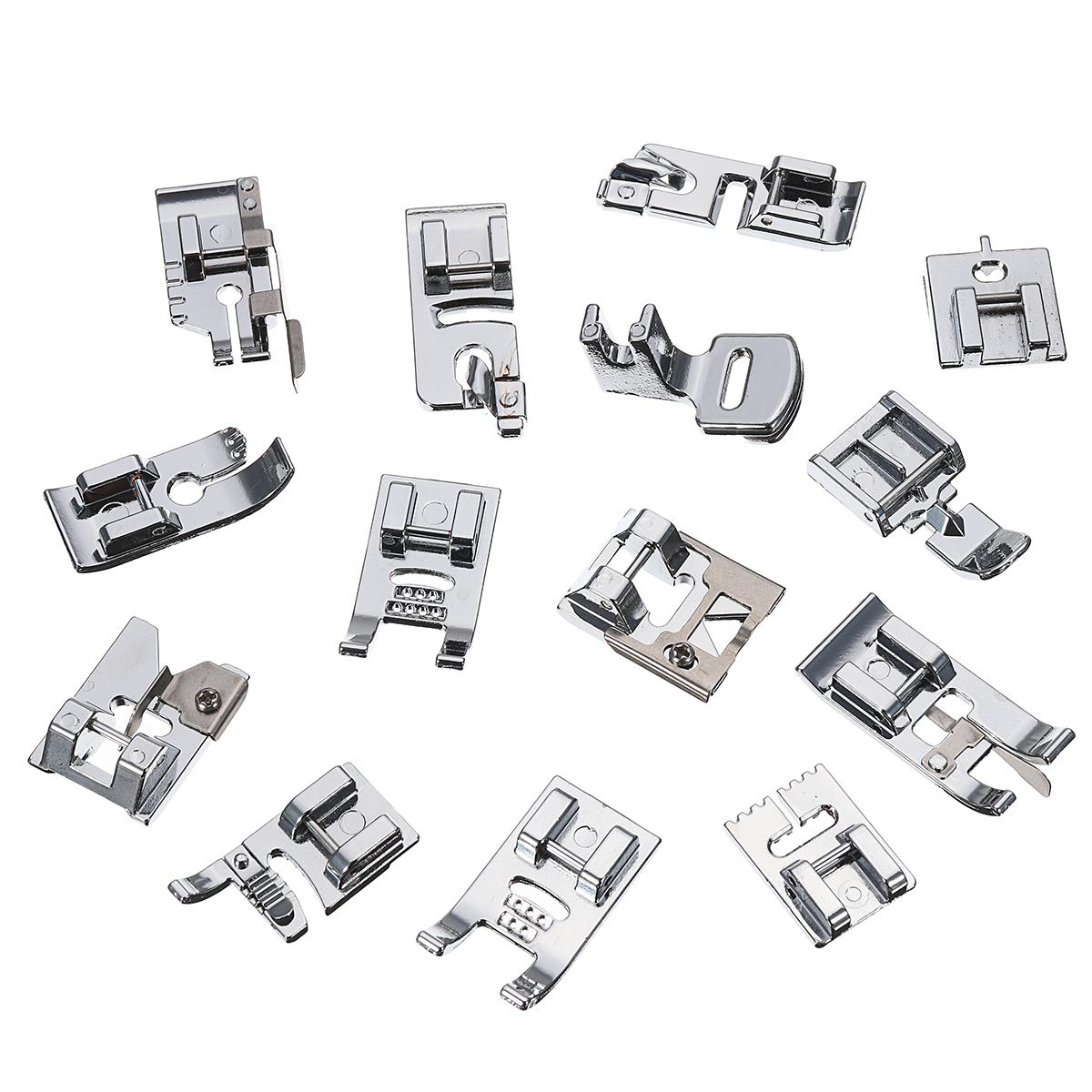 48pcs Sewing Machine Presser Foot Feet Tool Kit Set