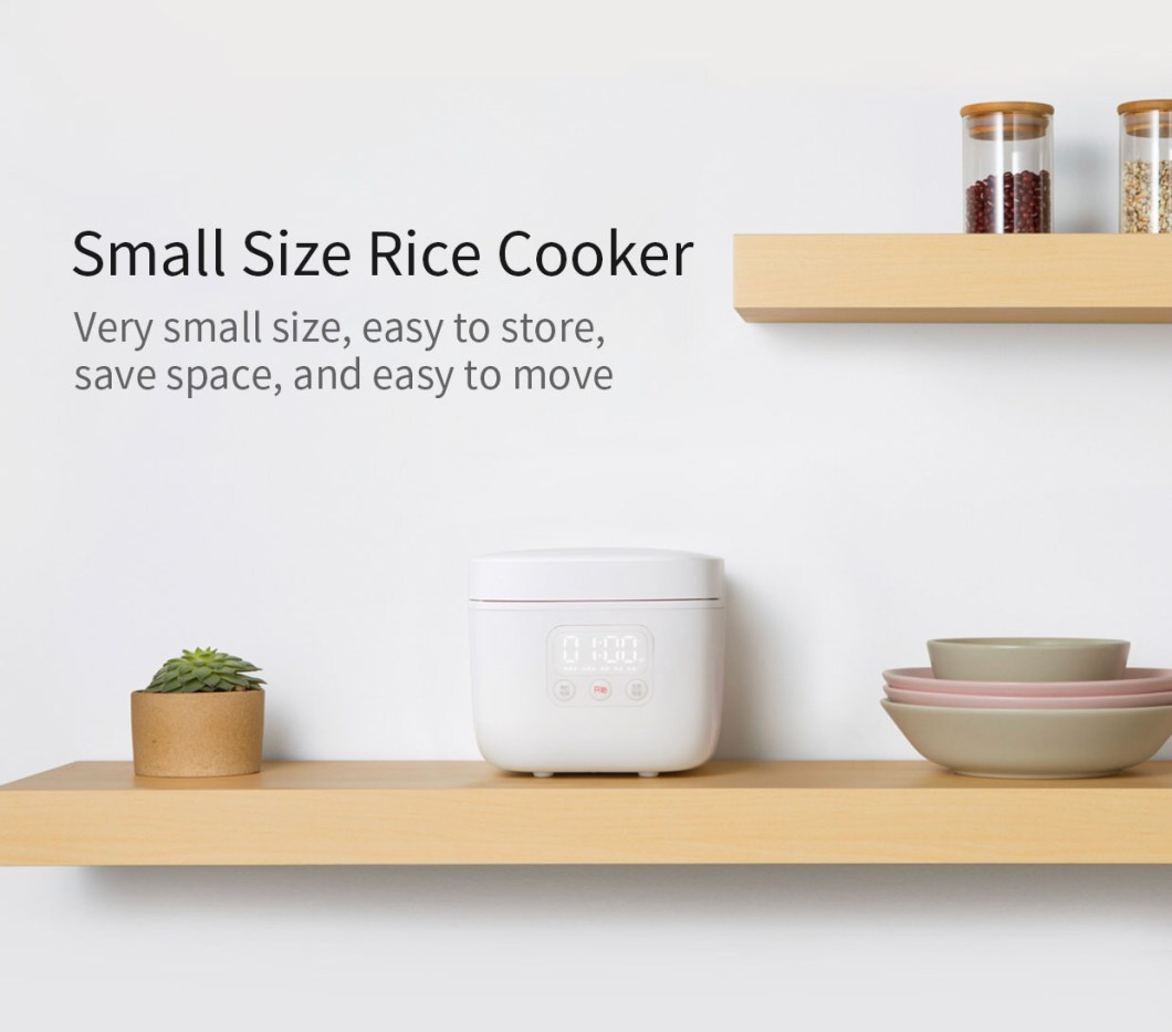 XIAOMI Mijia DFB201CM Small Rice Cooker 1.6L 400W APP Linkage Non-stick rice Cooker 29