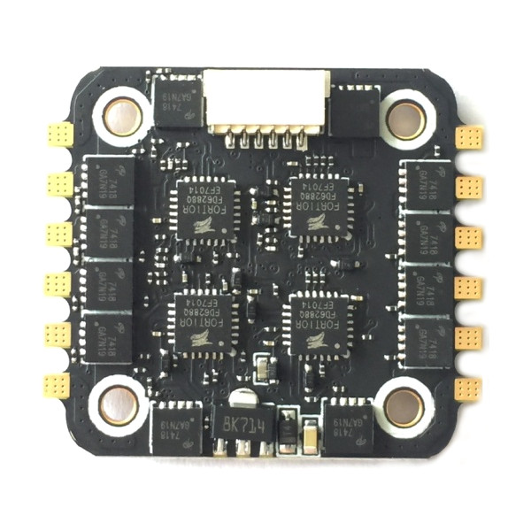 20x20mm BS-28A 4in1 2-4S BLHELI_S ESC Supporta PWM Multishot Oneshot DSHOT 4.1g per RC FPV Racing Drone