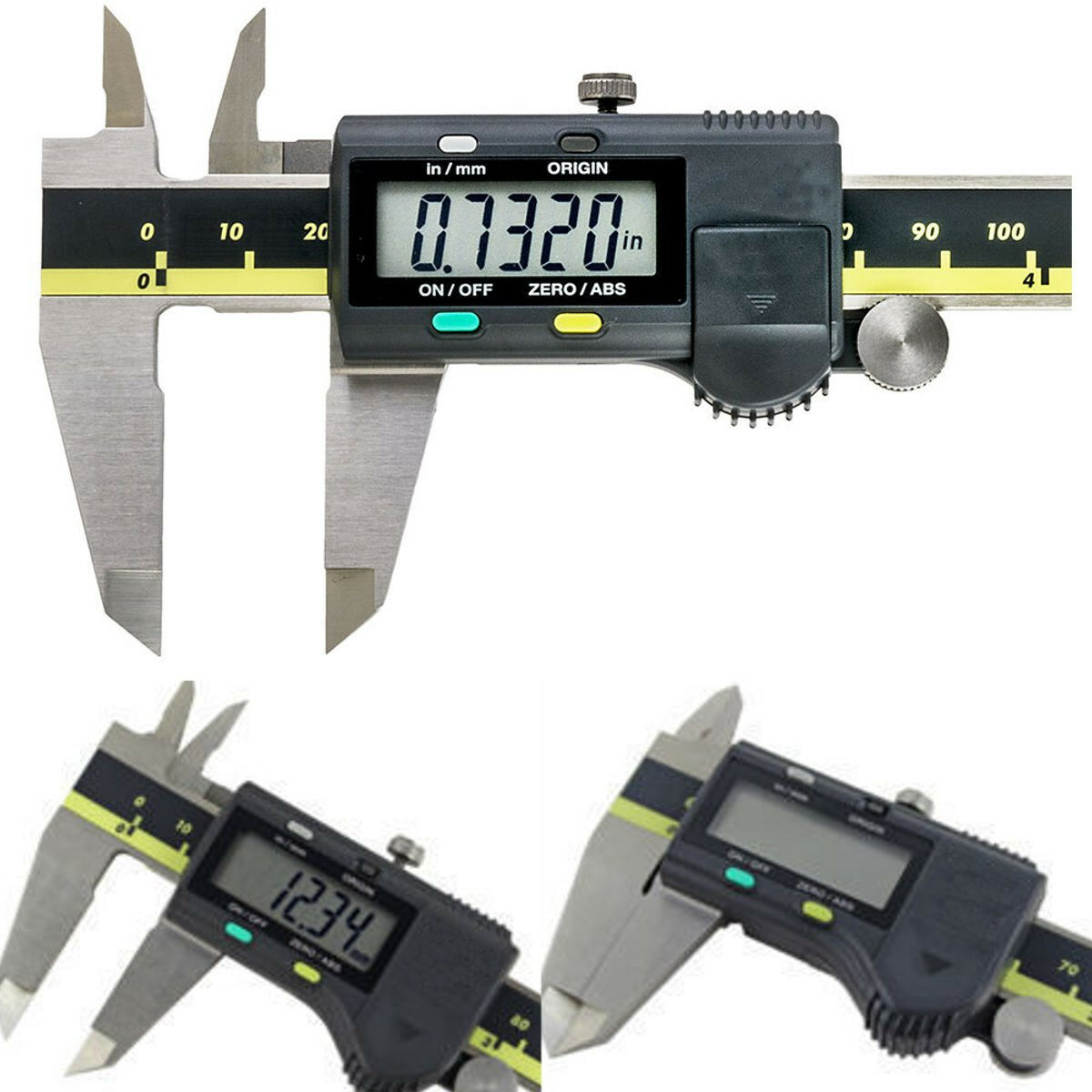 150mm 6 Inch Stainless Steel Electronic Digital Vernier