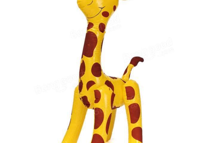 60cm Gran Jirafa Inflable Animal De Zoológico Estallar Piscina De