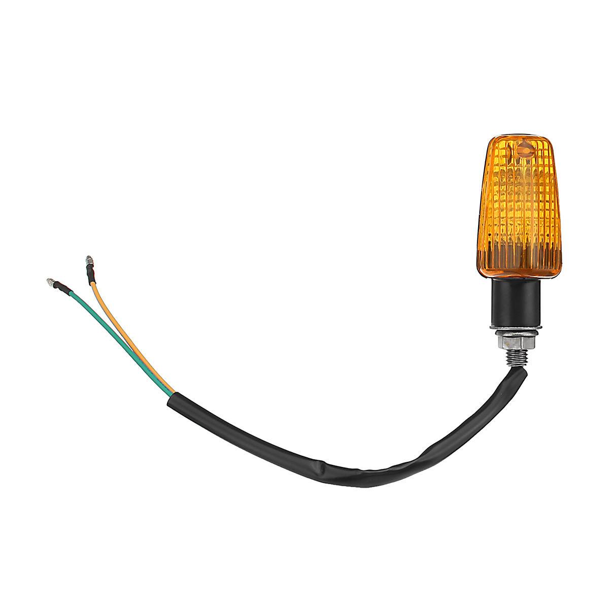 2pcs Motorcycle Motorbike Flasher Turn Signal Lamp