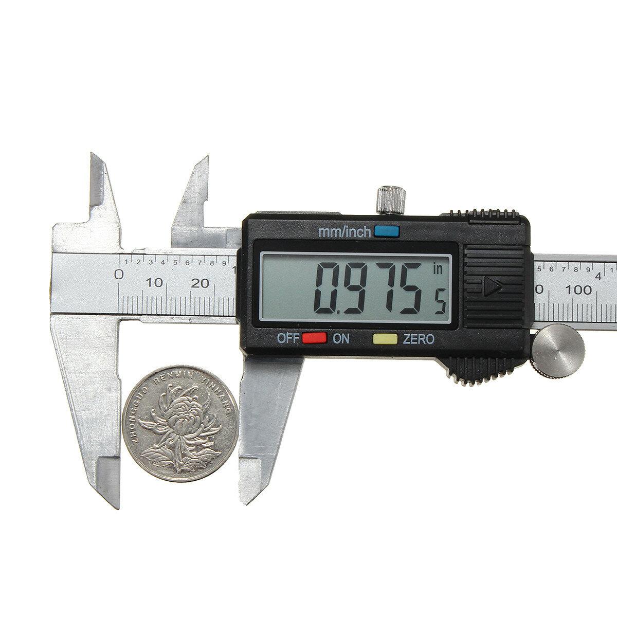 6 Inch 150mm Digital Stainless Vernier Caliper Electronic