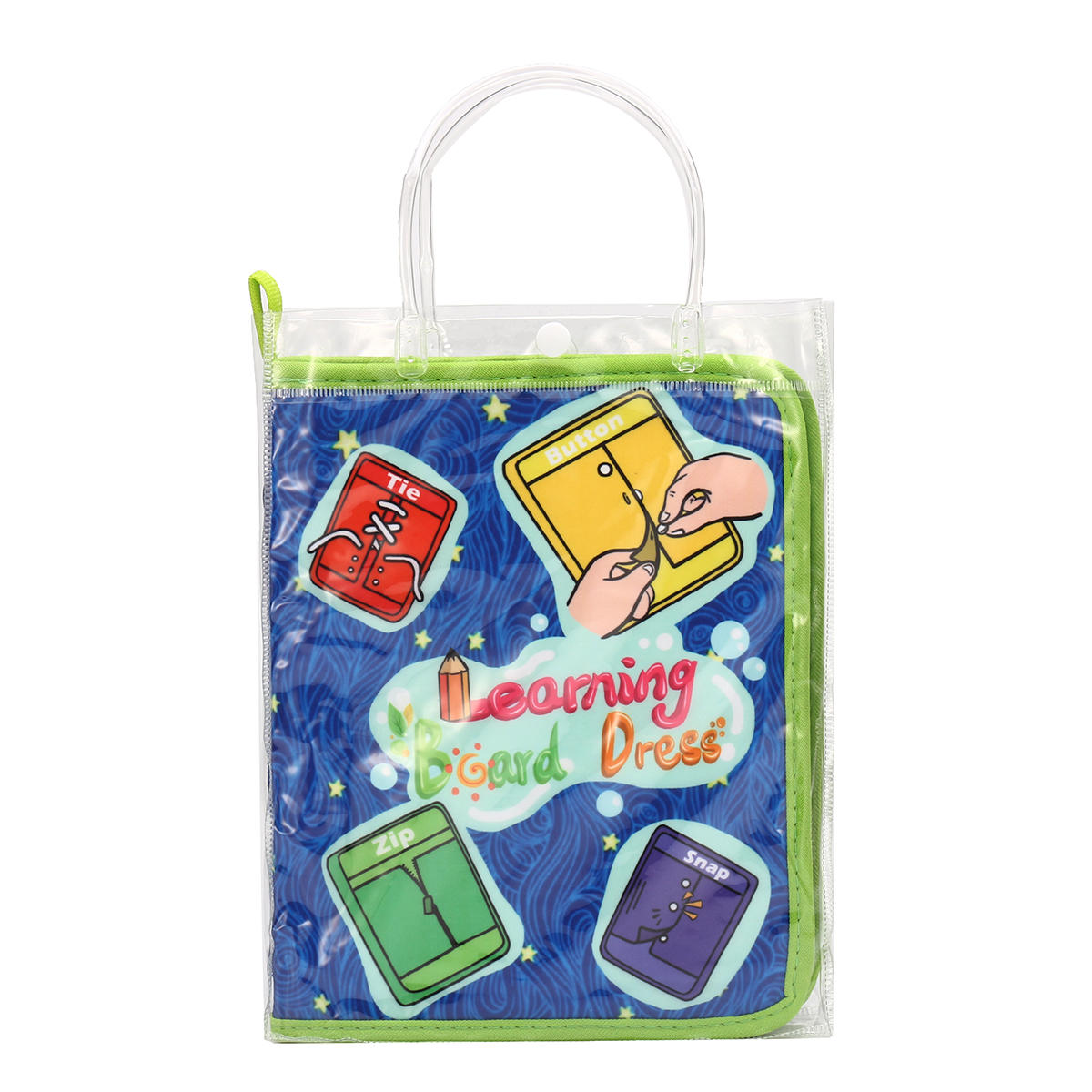 Montessori Learn Dress Boards Quick Book Early Learning