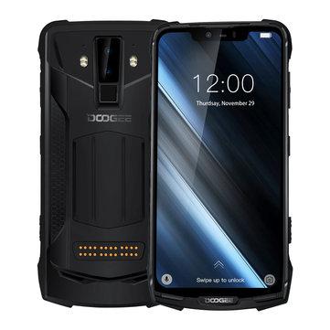 DOOGEE S90 Standard Edition 6.18 Inch FHD+ IP68 NFC 5050mAh 6GB RAM 128GB ROM Helio P60 Octa Core 4G Smartphone