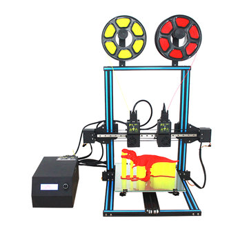 TL-D3 Dual Extruder 3D Printer Kit