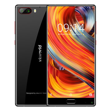 Vkworld Mix3 5.99 Inch FHD+ Face Recognition 4000mAh 9V/2A 6GB RAM 128GB ROM Helio P25 4G Smartphone