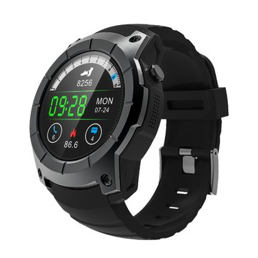 S958 1.3inch GPS Heart Rate Monitor Barometer Pedometer Bluetooth Smart Watch For iphone8