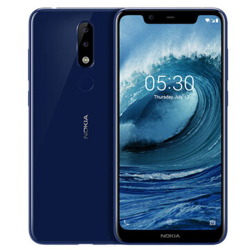 NOKIA X5 5.89 inch Android 8.1 Fingerprint 3GB RAM 32GB