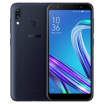 Asus ZenFone Max (M1) Global Version 5.5 Inch HD+ 4000mAh Face Unlock Andriod 8.0 3GB 32GB Snapdragon 430 4G Smartphone