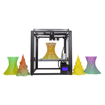 Zonestar® Z9M3 3-in-1-out Mixed Color Full Metal 3D Printer