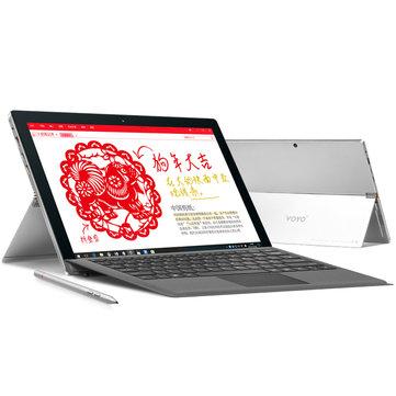 VOYO VBook I7 Plus Intel Core I7-7500U 8G RAM 256G SSD 12.6 Inch Windows10 Home Tablet
