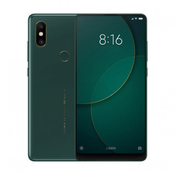 Xiaomi Mi MIX 2S Global Bands 5.99 inch 8GB 256GB Snapdragon 845 Octa core 4G Smartphone Green