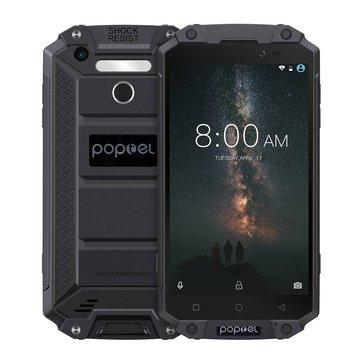 POPTEL P9000 MAX Global Bands 5.5 Inch FHD IP68 9000mAh 9V/2A 4GB RAM 64GB ROM MTK6750V Smartphone