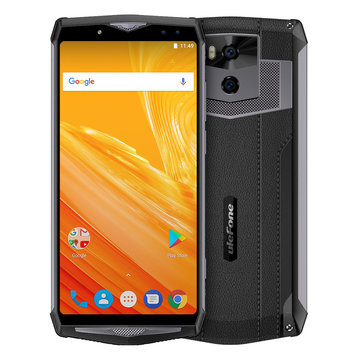 Ulefone Power 5 6.0 inch 13000mAh Wireless Charge 6GB RAM 64GB ROM MT6763 Octa core 4G Smartphone