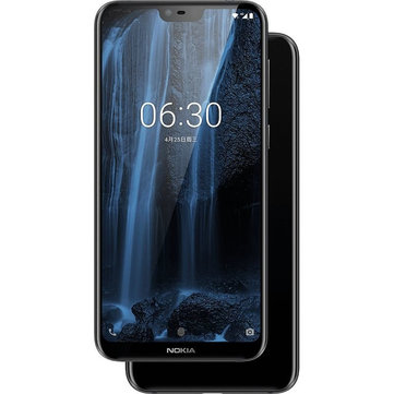 NOKIA X6 5.8 Inch 19:9 FHD Face Unlock Android 8.0 4GB 32GB Snapdragon 636 Octa Core 4G Smartphone