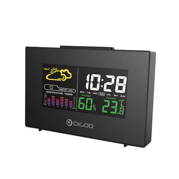 Digoo DG-C3 Wireless Color Backlit USB Hygrometer Thermometer Weather Forecast Station