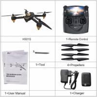 """Résultat de recherche d'images pour """"Hubsan H501S X4 Brushless Drone - COLORMIX BLACK US PLUG"""""""