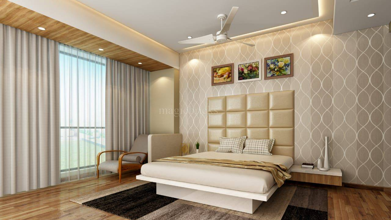 simple curtain styles for bedroom and