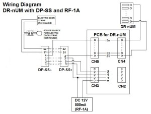 COMMAX INTERCOM: 4 Buttons Audio Door Panel for Apartments