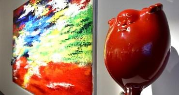 彭雄渾x蔡尉成 | 萬相。無相 | 淬鍊生命層次色彩畫作與立體鋼雕策展