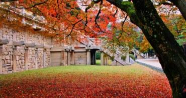韓國   推薦深秋到韓國最佳10大景點浪漫賞楓趣