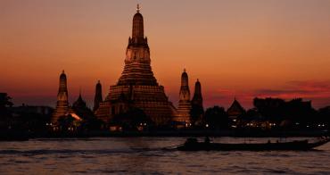 泰國 | 鄭王廟:遠眺曼谷市區與觀賞日落絕美據點