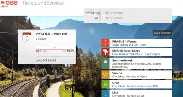 奧地利鐵路ÖBB訂票教學:如何預訂布拉格到維也納可自行列印跨國火車票