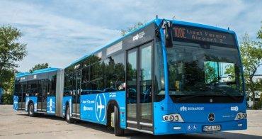 匈牙利 | 布達佩斯:如何搭100E藍色公車往返市區 - 李斯特·費倫茨國際機場