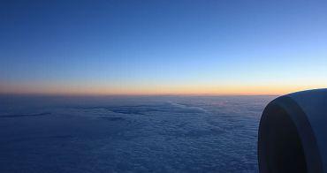 2012.9.14-Day1。北歐行 - 泰航機上