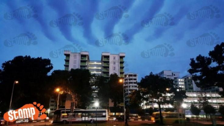 Stomper spots strange looking ripple clouds at Woodlands ...