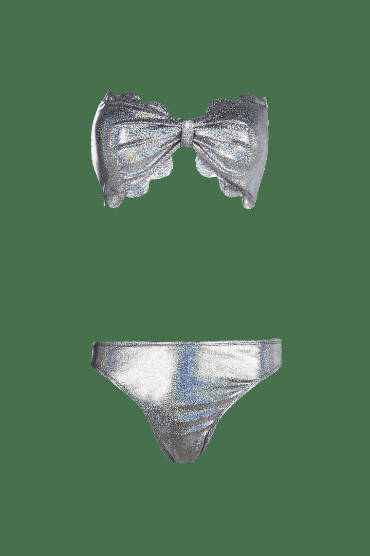 Rome Hologram Bandeau Bikini