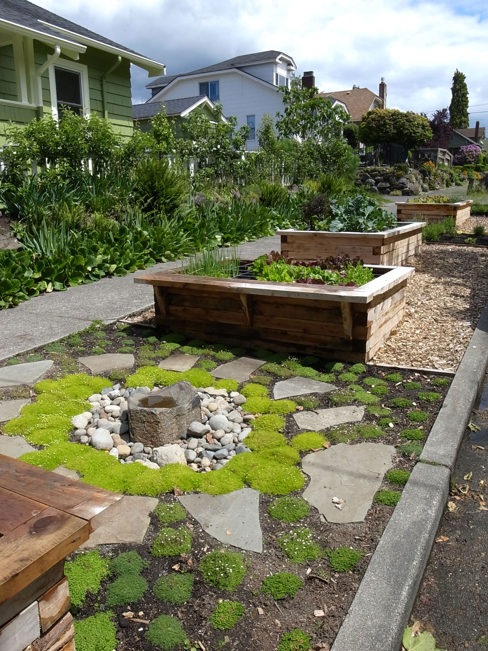 Edible Landscaping Ideas for Front Yard - Sunset - Sunset ... on Backyard Lawn Designs id=15449