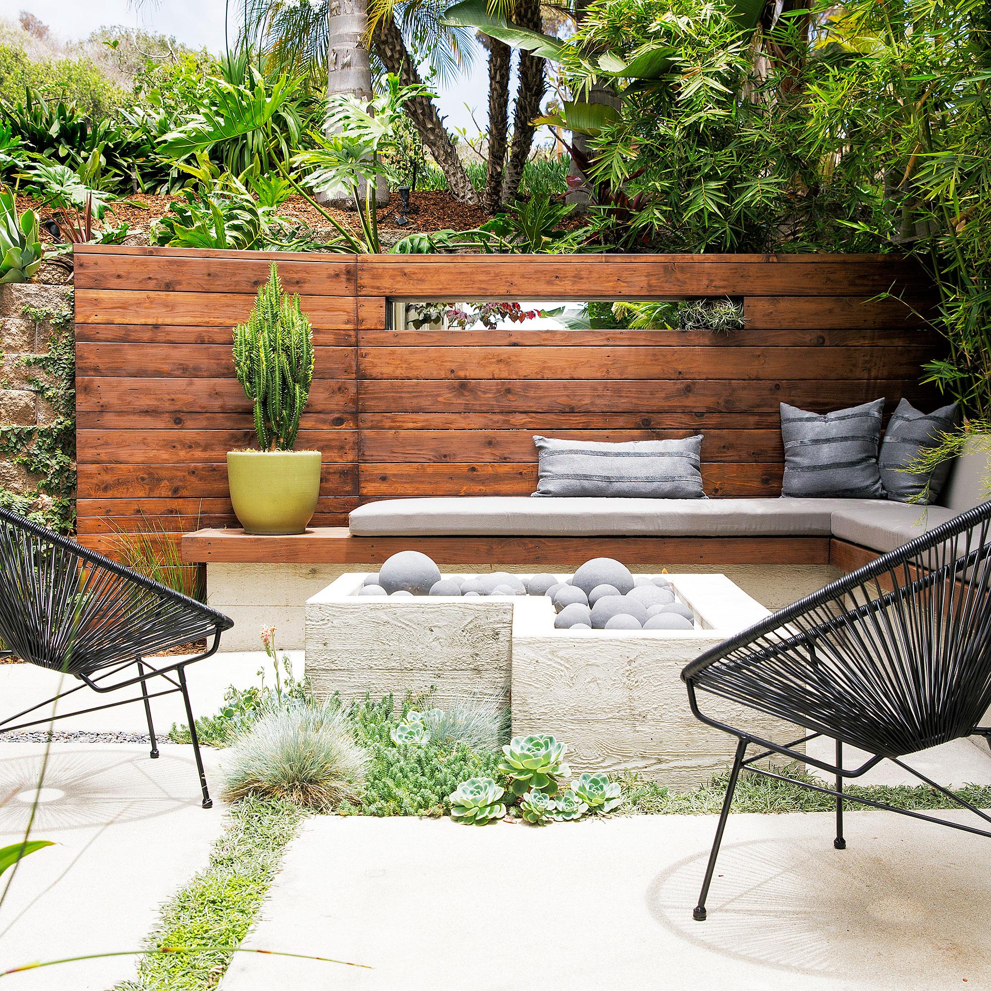 Retaining Wall Ideas - Sunset Magazine on Patio Stone Wall Ideas  id=75058