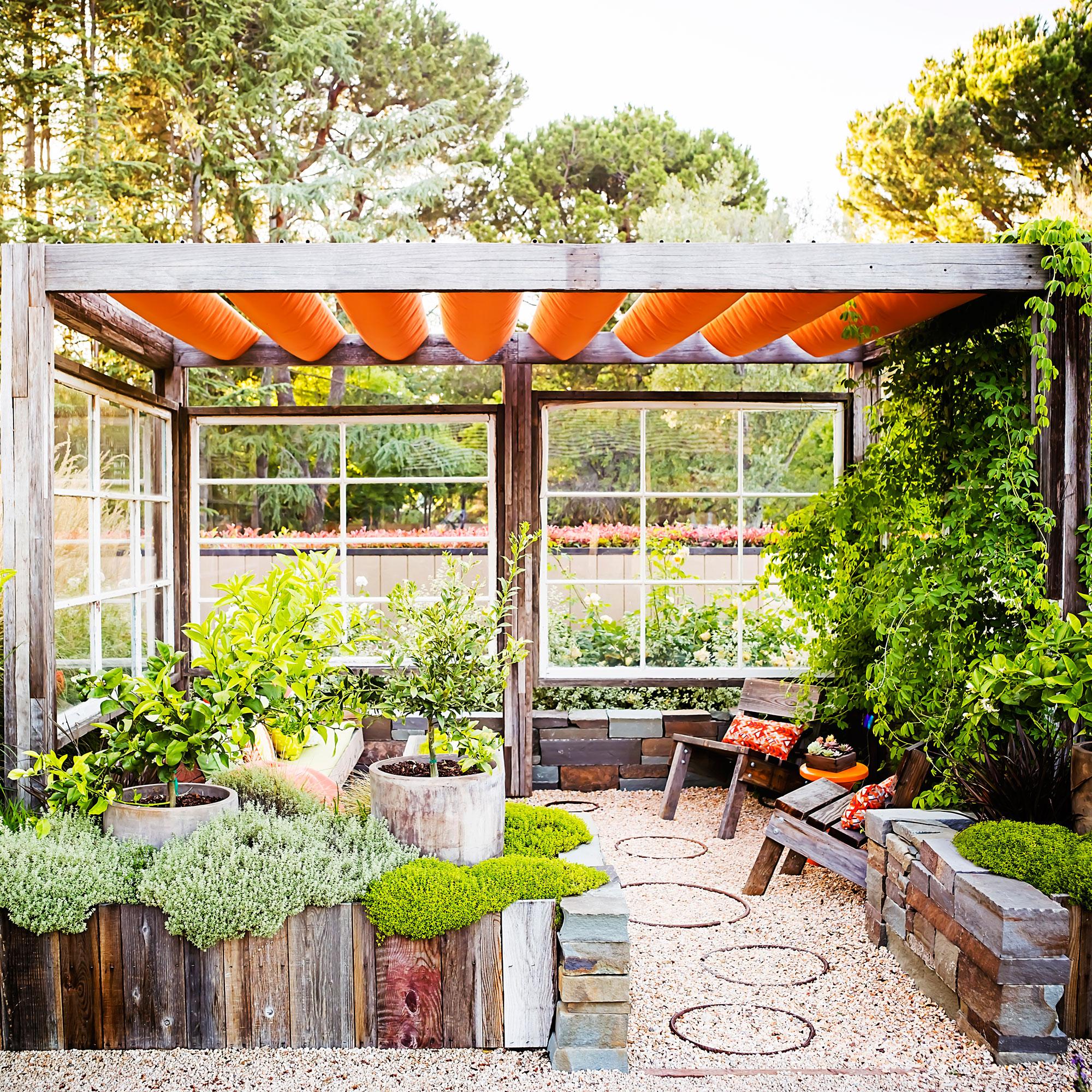 18 Favorite Outdoor Rooms - Sunset Magazine on Backyard Retreat Ideas id=82575