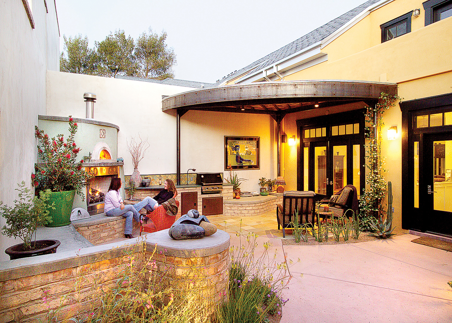 Patio Ideas and Designs - Sunset - Sunset Magazine on Cozy Patio Ideas  id=58929