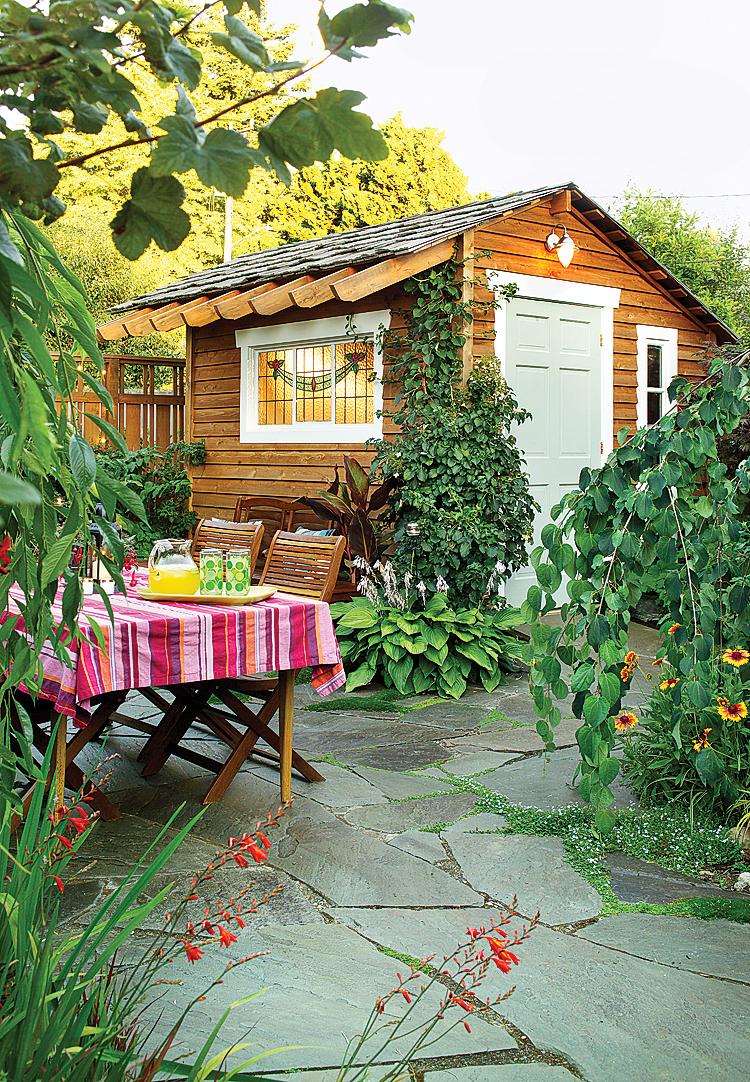 Ideas for Outdoor Dining Rooms - Sunset - Sunset Magazine on Dream Backyard Ideas id=98171