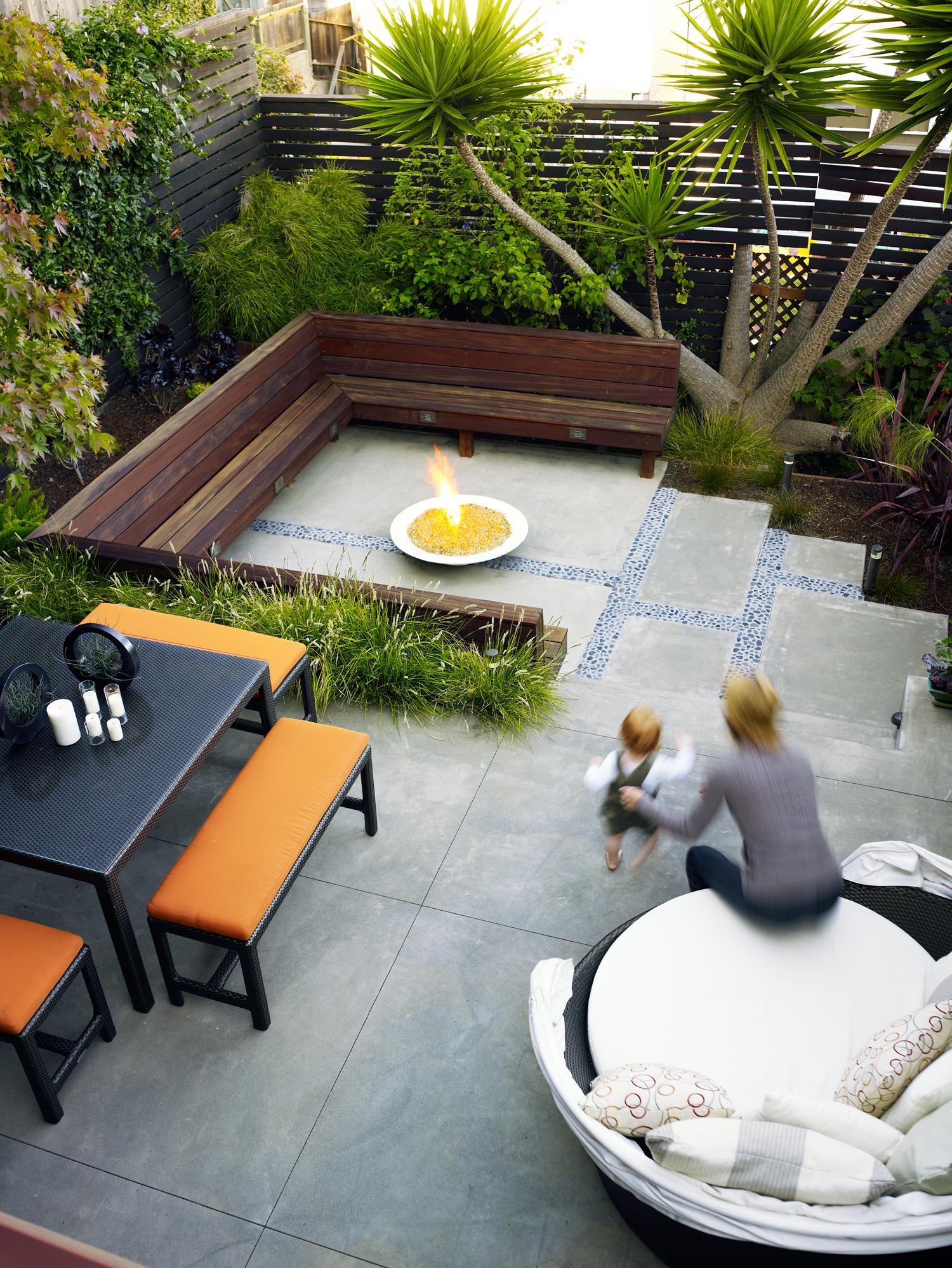 23 Small Yard Design Solutions - Sunset Magazine on Backyard Ideas No Grass  id=41431