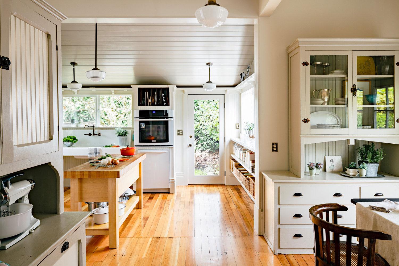 How to Design a Vintage-Modern Kitchen - Sunset Magazine on Kitchen Remodel Modern  id=22255