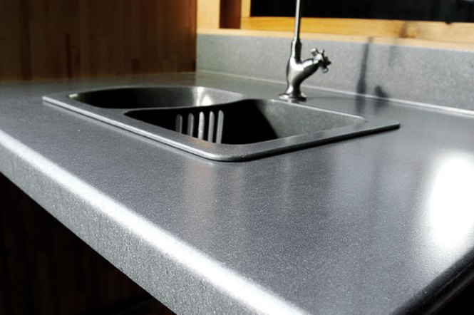 Eco Friendly Kitchen Counters Eleek Recycled Aluminum Countertops