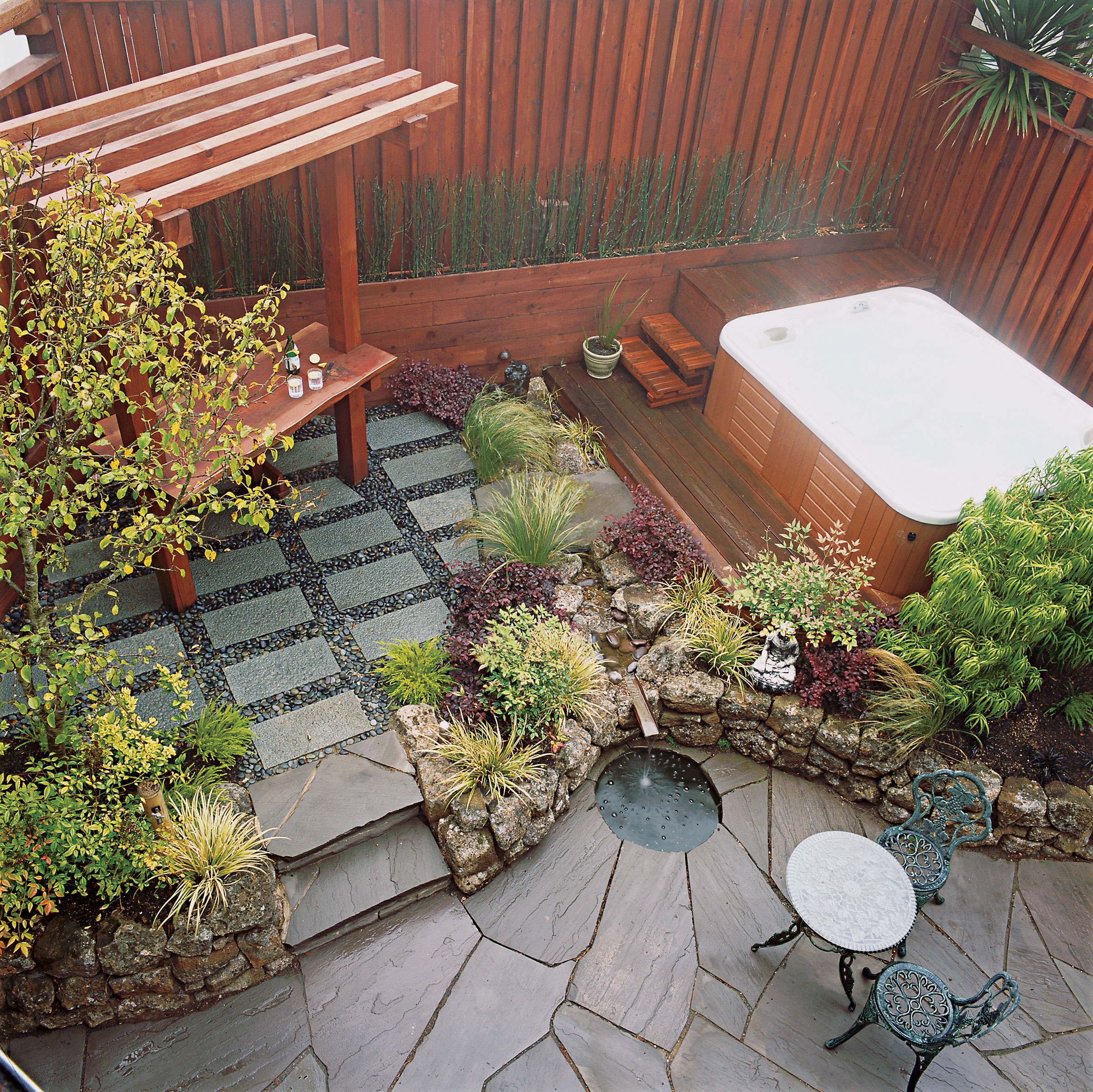 Small garden secrets - Sunset Magazine on Landscape Garden Designs For Small Gardens id=91410