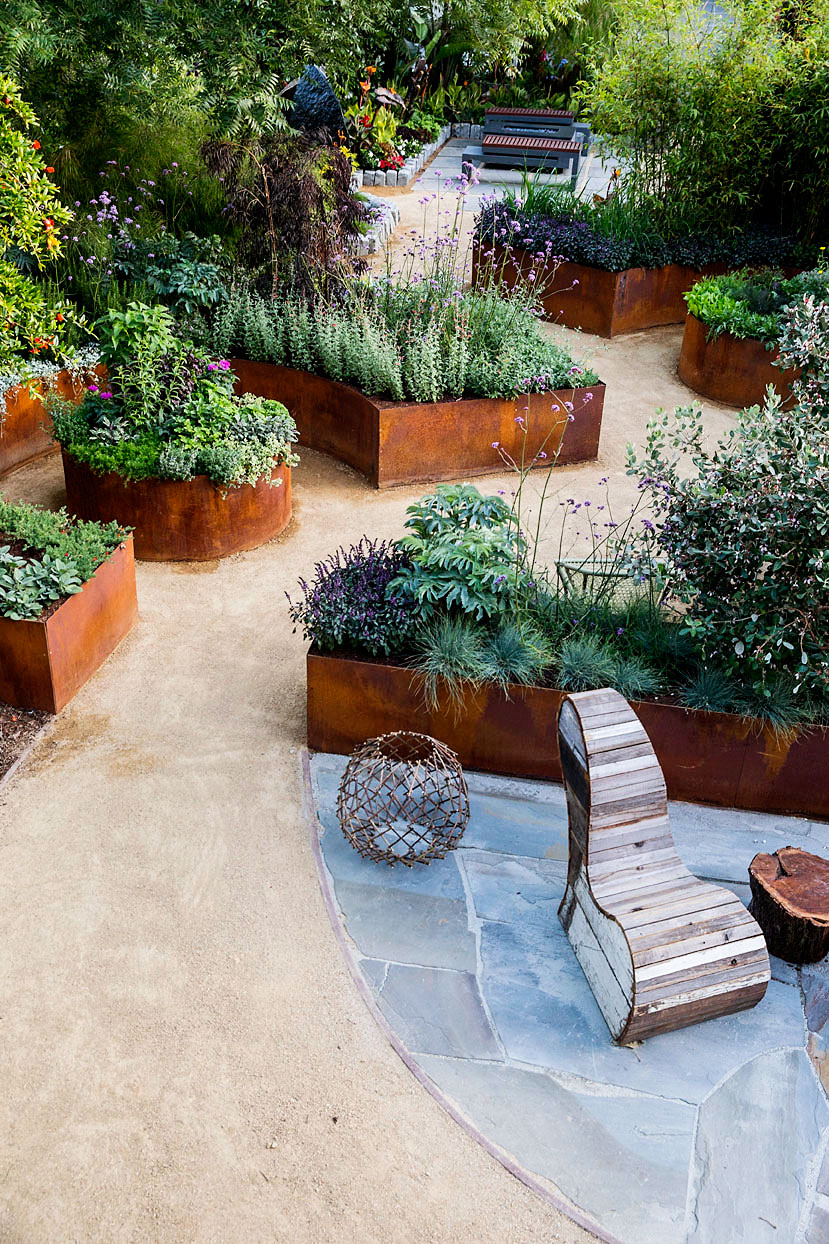 Small Backyard Ideas for an Edible Garden - Sunset Magazine on Patio And Grass Garden Ideas id=40007