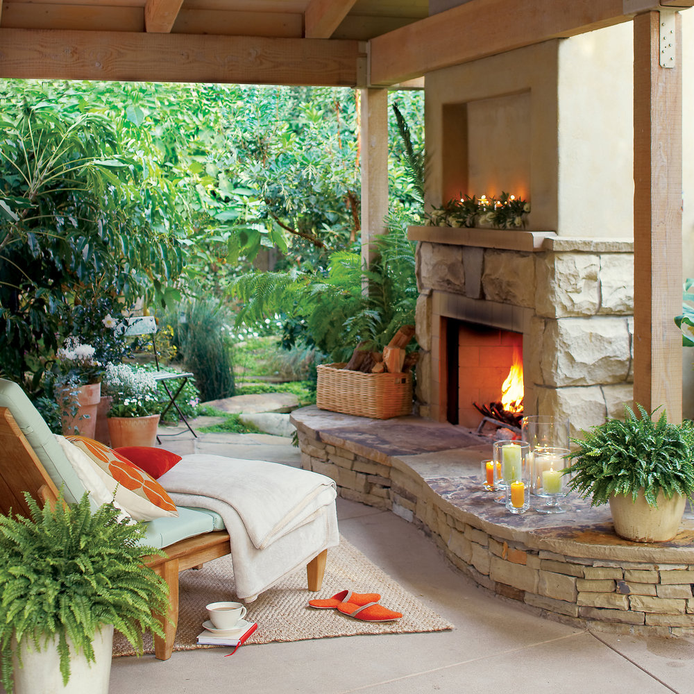 10 ways to enjoy your backyard, even in the chilly months ... on Inclosed Patio Ideas  id=40588