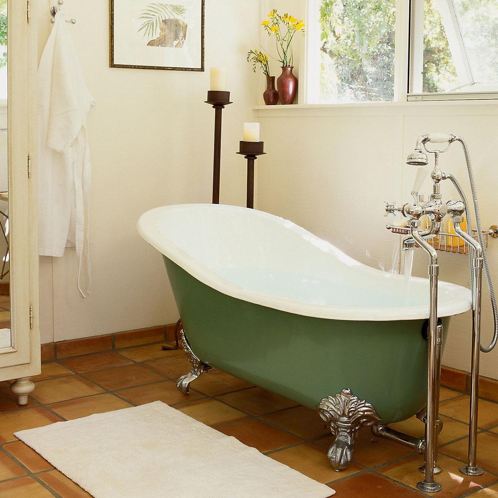 How To Paint A Bathtub Sunset Magazine
