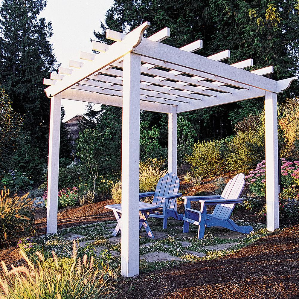 How to build a backyard pergola - Sunset - Sunset Magazine on Square Patio Designs id=70989