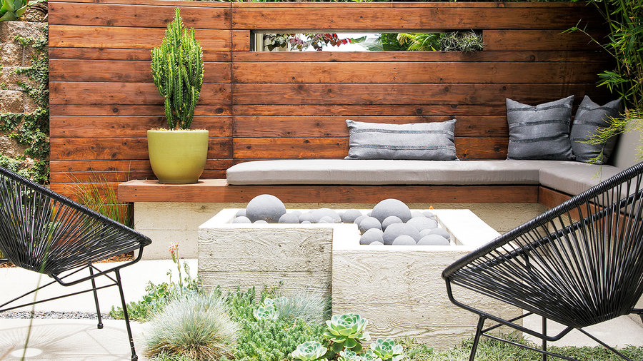 Retaining Wall Ideas - Sunset Magazine on Patio Block Wall Ideas id=98786